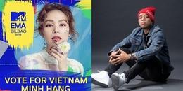 Điều kì tích đã không đến, Minh Hằng trắng tay ở MTV EMA 2018