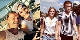"""Bị xem là """"em gái mưa"""", Emma Watson vẫn cười tít mắt khi được hẹn hò cùng 'crush' Malfoy năm nào"""