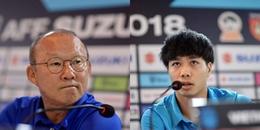 Họp báo Việt Nam - Myanmar: HLV Park Hang-seo tự tin, Công Phượng đặt chiến thắng lên hàng đầu!
