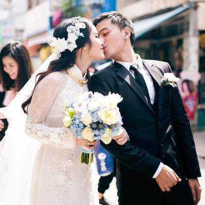 Vợ chồng nữ diễn viên