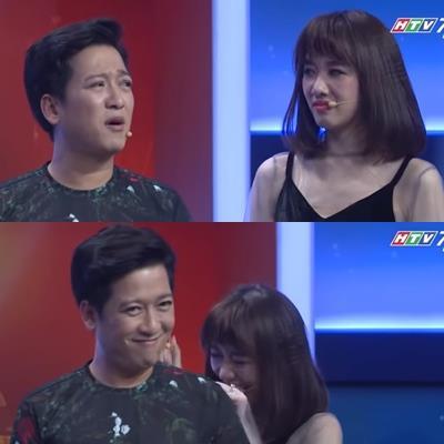 Phản ứng của Hari Won khi Trường Giang hỏi: