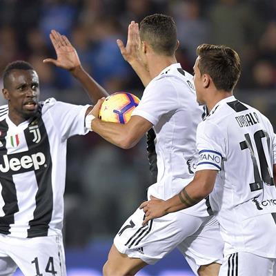 Serie A 2018/19 trước vòng 11: Juventus