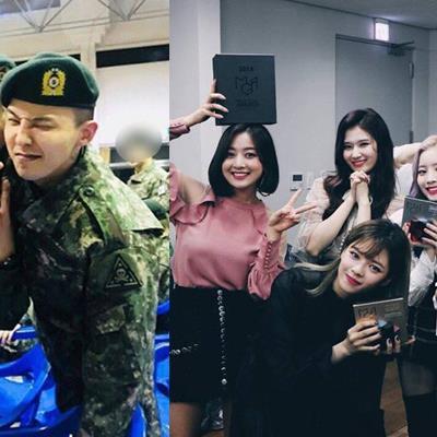 Đây chính là nhóm nhạc nữ khiến G-Dragon vất vả xin cho được chữ kí dù đang nhập ngũ
