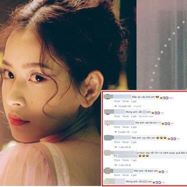 Chi Pu đánh đố fan tên ca khúc mới sắp được trình làng, CĐM bình luận: