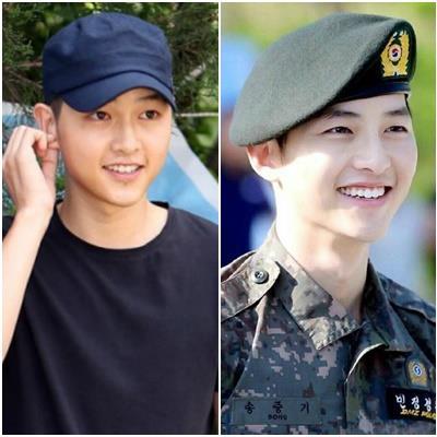 Nhan sắc sao Hàn thay đổi khi nhập ngũ: Người