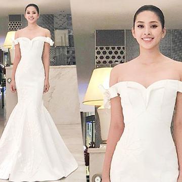 Hé lộ trang phục dạ hội của Hoa hậu Tiểu Vy trong phần thi Top Model - Miss World 2018