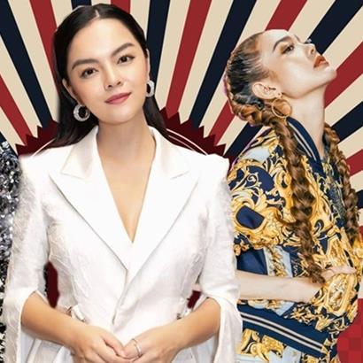 yan.vn - tin sao, ngôi sao - Fashion Police: Phạm Quỳnh Anh sang trọng, Thanh Hằng - Minh Hằng đứng 2 'chiến tuyến' đối lập