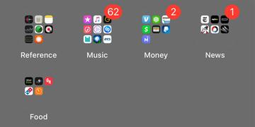 Phát hiện trường hợp đặc biệt: loại hình nền khiến màn hình iPhone bị lỗi, folder trở nên trong suốt