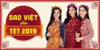 Sao Việt đón Tết 2019