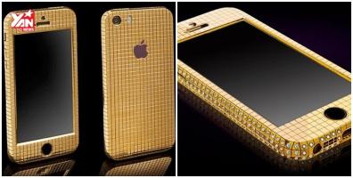 Lóa mắt với iPhone SE vàng giá 1,7 tỉ đồng
