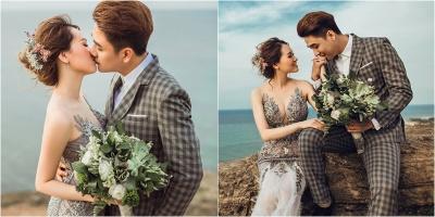 Ảnh cưới của Huy Nam và vợ lãng mạn không kém Khởi My - Kelvin Khánh