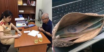 Bỏ quên ví chứa 20 triệu đồng, người đàn ông nhận cái kết bất ngờ từ CSGT