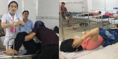 Gần 200 công nhân nôn ói, ngất xỉu sau bữa cơm chiều ở tỉnh Bình Dương