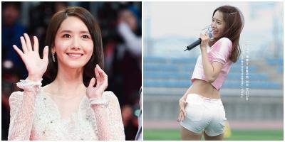 """Thực hư chuyện vòng 3 của Yoona bỗng nhiên """"nảy nở"""" bất thường tại thảm đỏ lễ trao giải Busan"""