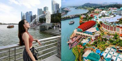 """Lịch trình 3 ngày ăn chơi """"quên lối về"""" tại đảo quốc sư tử Singapore xanh – sạch nhất châu Á"""