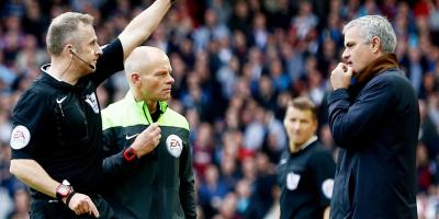 FA ra án phạt nghiêm cho HLV, Jose Mourinho và Jurgen Klopp có thể phải nhận thẻ đỏ ngay trong trận!