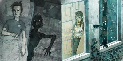 """""""Đằng Sau Bạn"""": Bộ ảnh động tái hiện sự """"rợn người"""" khi bạn ở 1 mình trong tháng cô hồn gây sốt MXH"""