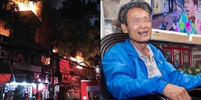 """Vụ cháy nhà trọ ở Đê La Thành khiến hai người tử vong: Khởi tố ông Hiệp """"khùng"""""""