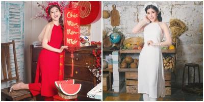 Quán quân The Voice 2018 - Ngọc Ánh nô nức tung bộ ảnh chào Xuân ngọt ngào