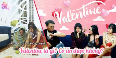 Khi cơn ác mộng Valentine cuối cùng cũng đến: Lễ tình nhân là gì? Có ăn được hông?