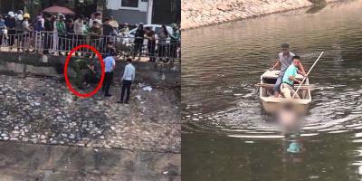 Buồn chuyện tình cảm, cô gái trầm mình xuống sông Tô Lịch bốc mùi hôi thối