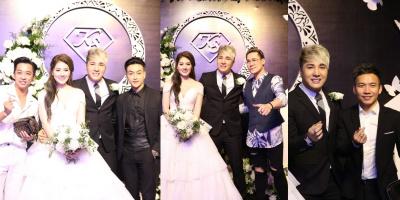 Dàn sao Vpop đổ bộ lễ cưới đẹp như mơ của Lâm Chấn Khang và vợ Jun See