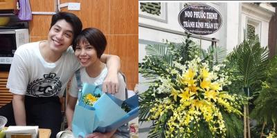 Noo Phước Thịnh gửi vòng hoa đến viếng fan nữ mất vì ung thư