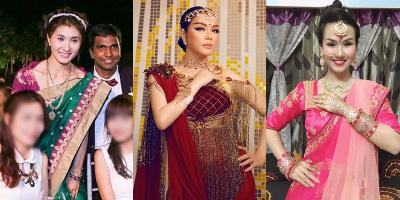 Mỹ nhân Việt làm gái Ấn: Võ Hạ Trâm đeo trang sức khủng ai bì kịp