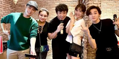 Lê Giang tổ chức sinh nhật bên hội bạn thân Trấn Thành - Hari Won