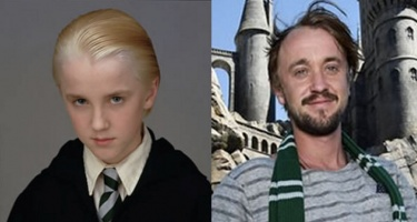 Soái ca Draco Malfoy trong Harry Potter xuống sắc trầm trọng