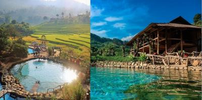 Top 12 suối nước nóng đẹp và nổi tiếng nhất ở Việt Nam
