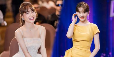 Sao nữ để tóc mái: Hari Won và Nhã Phương tranh nhau top đầu