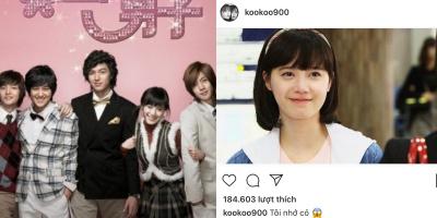 Goo Hye Sun đăng ảnh ''Vườn Sao Băng'' 11 năm trước: ''Tôi nhớ Jandi''