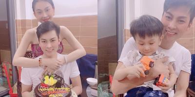 Lâm Khánh Chi nói lời ngôn tình chúc mừng sinh nhật ông xã kém 8 tuổi