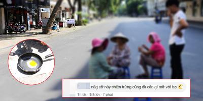 Hà Nội nắng nóng đạt đỉnh 40 độ C khiến dân mạng than trời