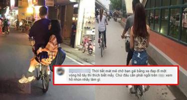 Ao ước tình yêu bình dị chở nhau trên xe đạp: Chẳng cần xe xịn làm gì!