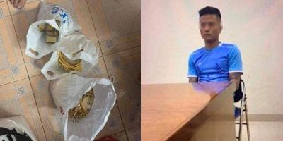 Vụ trộm 350 cây vàng ở Hà Nội: 1 thanh niên được đưa tới hiện trường