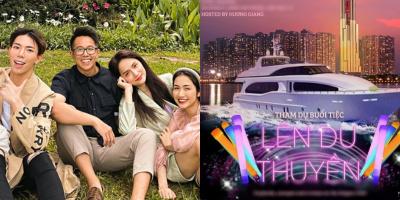 Hương Giang mở tiệc du thuyền đãi hội bạn thân vì hẹn hò được Matt Liu