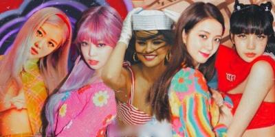 """BLACKPINK và Selena có chiến thắng đầu tiên tại K-pop với """"Ice Cream"""""""