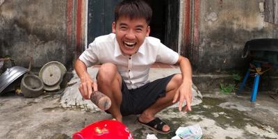 """Con trai Bà Tân Vlog bị xử phạt 10 triệu đồng vì clip """"trộm tiền"""""""