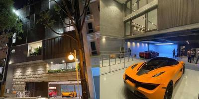 Hé lộ 1 góc biệt thự, Cường Đô La gây choáng vì 2 tầng đỗ toàn siêu xe