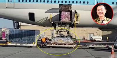 Chuyến bay chở cố NS Chí Tài hạ cánh: Chỉ có nhân viên đến đưa xuống