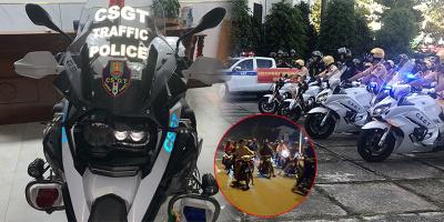 """Dàn """"siêu xe"""" gây sốt của CSGT miền Tây: Khắc tinh của nạn đua xe!"""