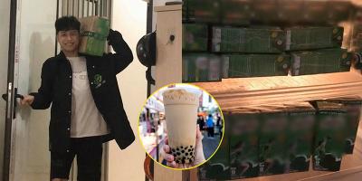 Thanh niên cứng nghĩ cách hay trị bồ mê trà sữa: Chị em gật gù xin cai