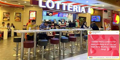 Sự thật việc Lotteria thua lỗ, sắp đóng cửa tại Việt Nam