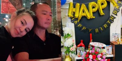 """Vy Oanh tự chuẩn bị sinh nhật tại gia cho chồng dù bụng bầu """"vượt mặt"""""""