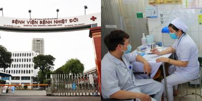 Nhờ tiêm vaccine, ca nghi nhiễm BV Bệnh Nhiệt đới có lượng virus thấp