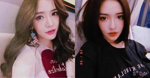 Dù tóc ngắn hay dài Bích Phương đều rất xinh đẹp.