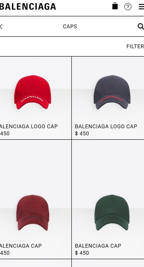 Chiếc mũ của nhà mốt này có giá $450 ~10,3 triệu đồng.