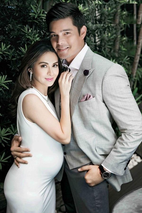 Cơn sốt vợ chồng mỹ nhân đẹp nhất Philippines: Yêu tựa phim, cưới như hoàng gia, 2 thiên thần nhỏ vừa ra đời đã quá nổi - Ảnh 3.